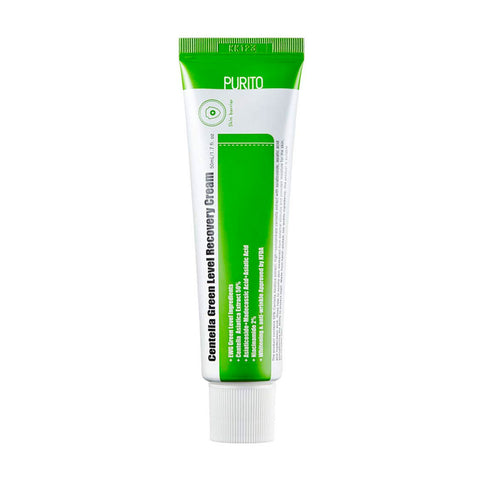 Purito Centella Green Level Recovery Cream Nudie Glow Korean Skin Care Australia