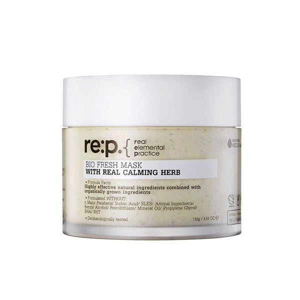 RE:P Bio Fresh Mask With Real Calming Herb Nudie Glow Korean Skin Care Australia