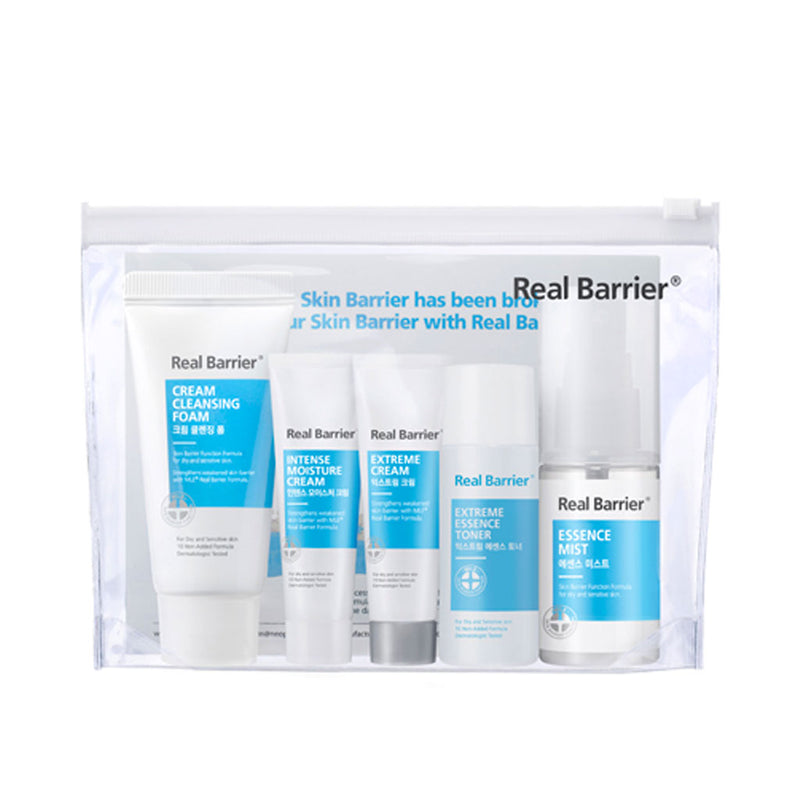 Real Barrier Moisture Kit Nudie Glow Korean Skin Care Australia