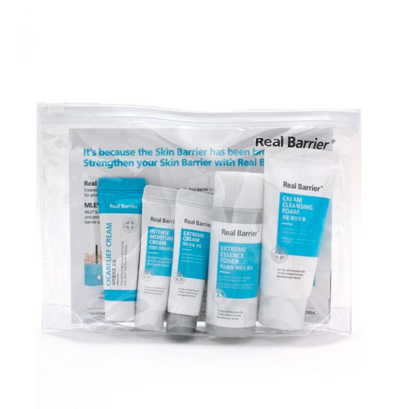 Real Barrier Mini Travel Kit Nudie Glow Korean Skin Care Australia