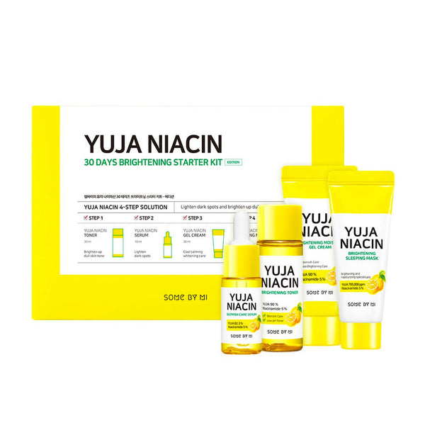SOME BY MI Yuja Niacin 30 Days Brightening Starter Kit Nudie Glow Korean Skin Care Australia