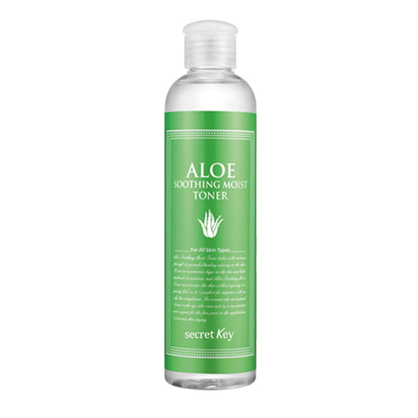 Secret Key Aloe Soothing Moist Toner Best Korean Beauty Nudie Glow Australia