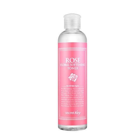 Secret Key Rose Floral Softening Toner Best Korean Beauty Nudie Glow Australia