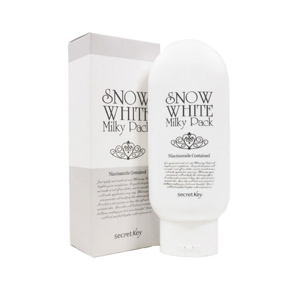 Secret Key Snow Milky Pack Nudie Glow Korean Skin Care Australia