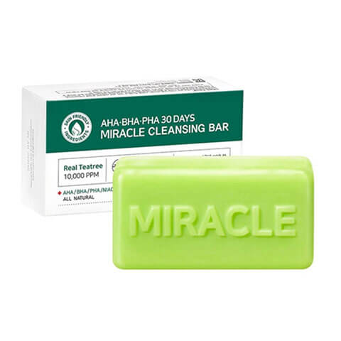 Some By Mi AHA BHA PHA 30 Days Miracle Cleansing Bar Nudie Glow Korean Beauty Australia