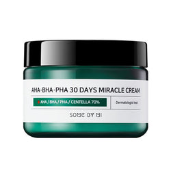 SOMEBYMI AHA BHA PHA 30 Days Miracle Cream Best Korean Beauty Skincare at Nudie Glow in Australia