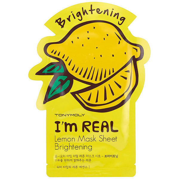 TONY MOLY I'm Real Lemon Mask Sheet Nudie Glow Korean Skin Care Australia