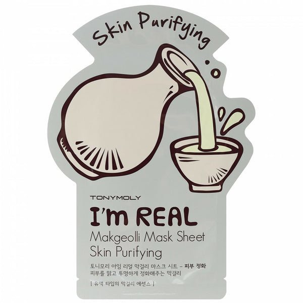 TONY MOLY I'm Real Makgeolli Mask Sheet Nudie Glow Korean Skin Care Australia