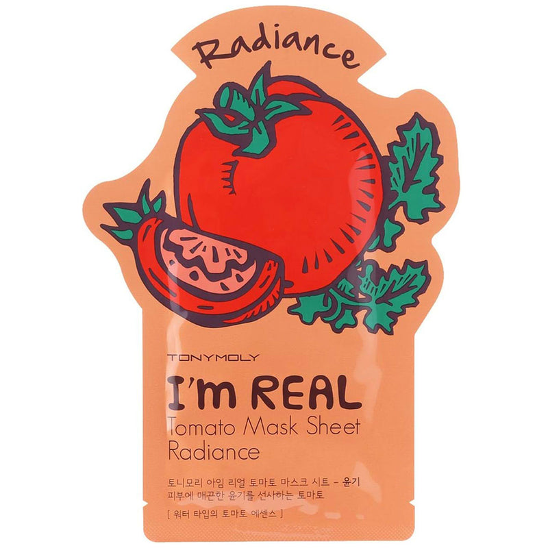 TONY MOLY I'm Real Tomato Mask Sheet Nudie Glow Korean Skin Care Australia