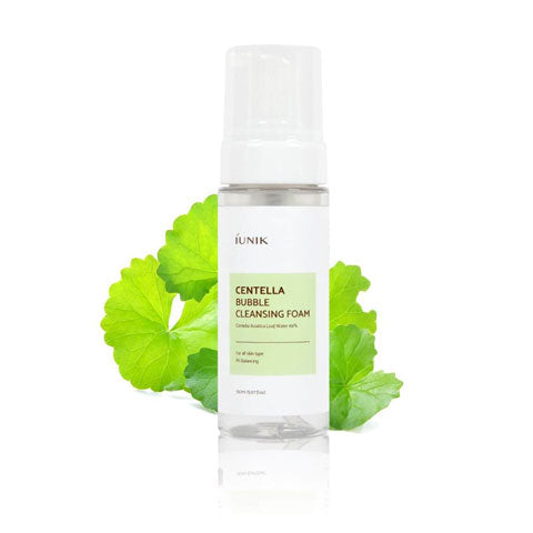 IUNIK Centella Bubble Cleansing Foam Nudie Glow Korean Beauty Australia