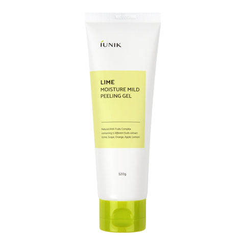 IUNIK Lime Moisture Mild Peeling Gel Nudie Glow Korean Beauty Australia