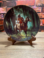 Sun Seeker Collectible Plate Mystic Warriors   The Hamilton Collection 1992