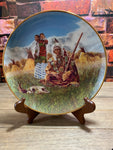 Family of Plains Collectible Plate Franklin Mint  American Indian Heritage Foundation Museum