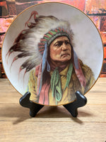Pride of Cheyenne Collectible Plate by Perillo - Artaffects Ltd 1991
