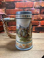 Vintage Fine Bisque Porcelain Beer-Stein The Story Teller by Paul Kethley