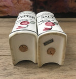 Vintage Ceramic CookBook Salt & Pepper Shakers-Japan 1960's