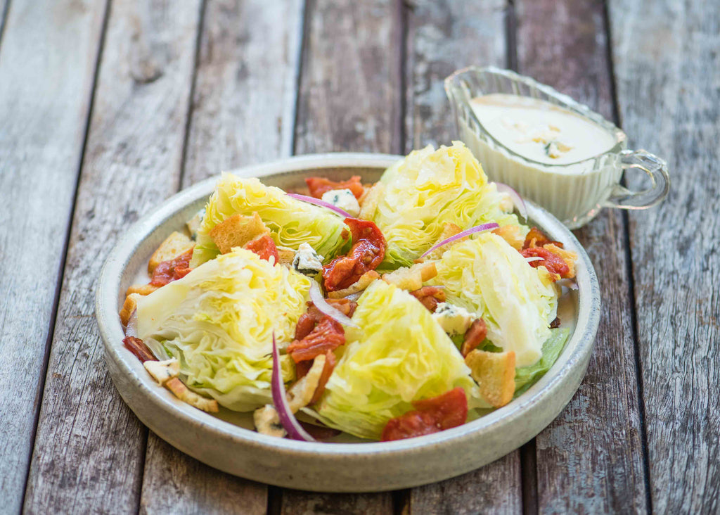 Wedge Salad with Bee Lane Cold Smoked Tomatoes