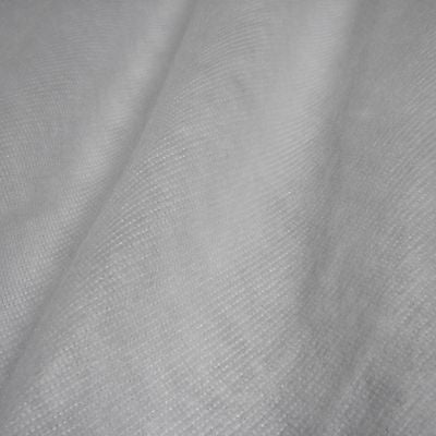 White Light Synthetic Curtain Interlining Fabric (Per Metre)