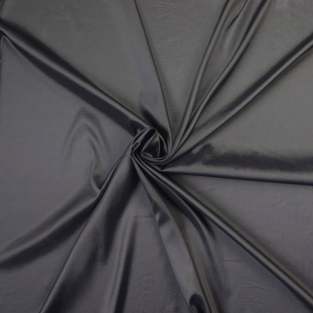 Pewter & White Two Tone Taffeta