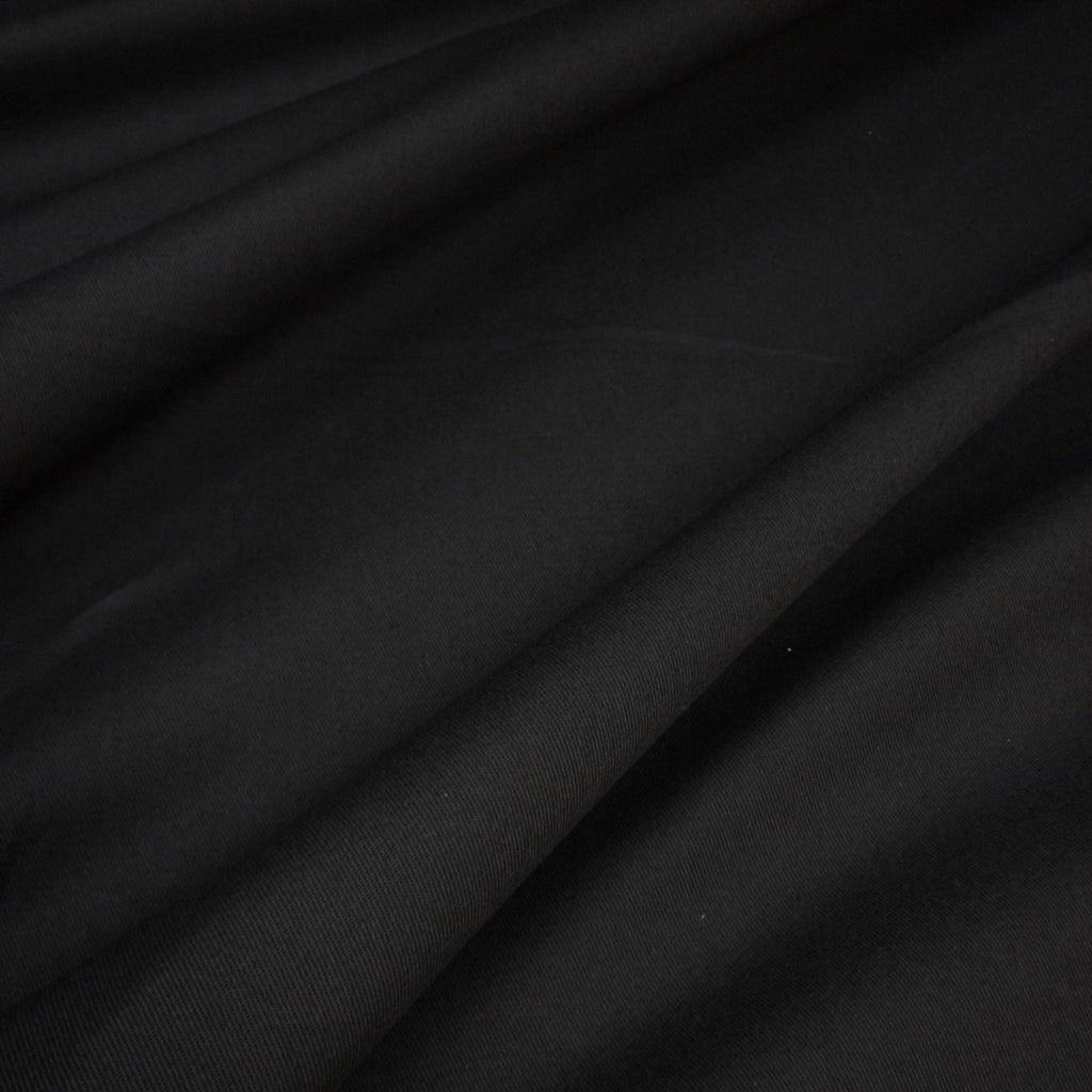 Black Dyed 100% Cotton Twill – 255 gsm (Per Metre)