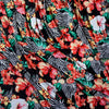 Multi Floral Print Stretch Polyester Fabric (Per Metre)