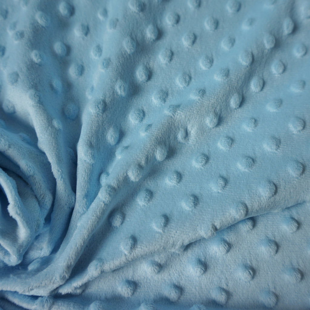 Dimple Fleece Fabric -Various Colours (Per Metre)