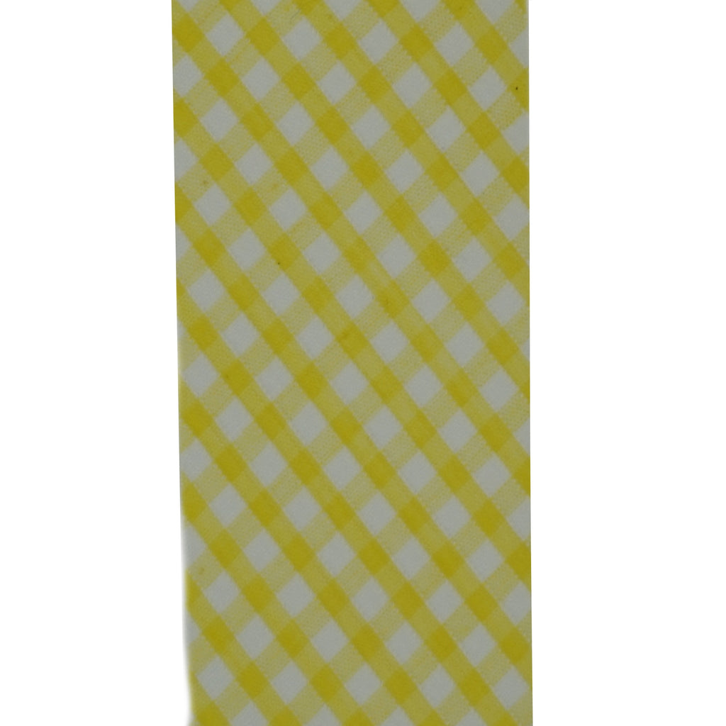 Gingham Bias Binding