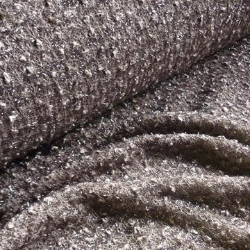 Loose Knitted Glitter Shawl Fabric - Various Colours (Per Metre)