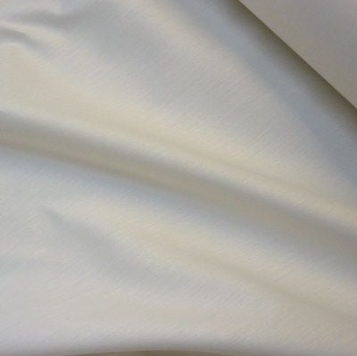 Ivory Polycotton Twill Curtain Lining Fabric (Per Metre)