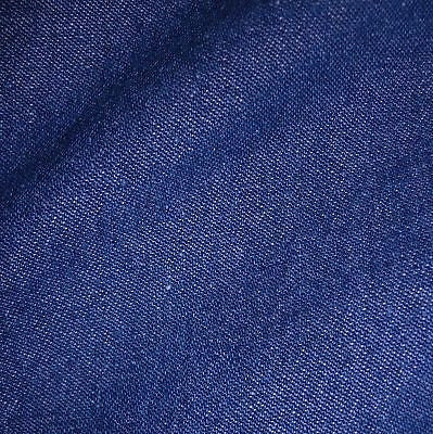 Medium Blue 100% Cotton 8oz Washed Denim Fabric (Per Metre)