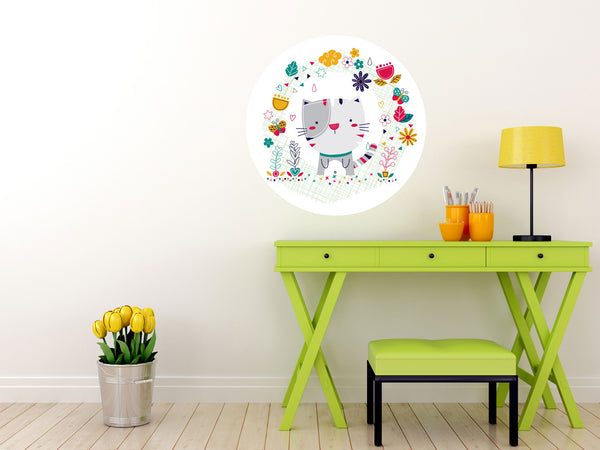 Vinilo decorativo Gato sweet