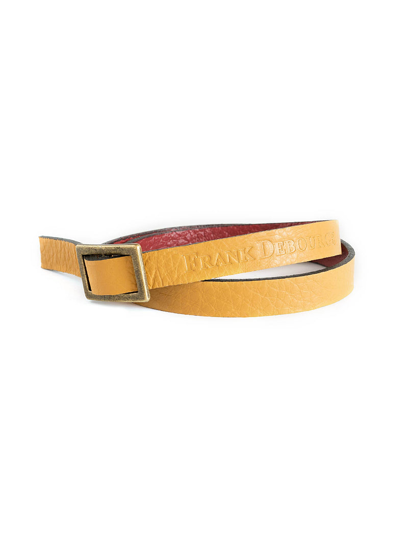 Leather Band - Yellow