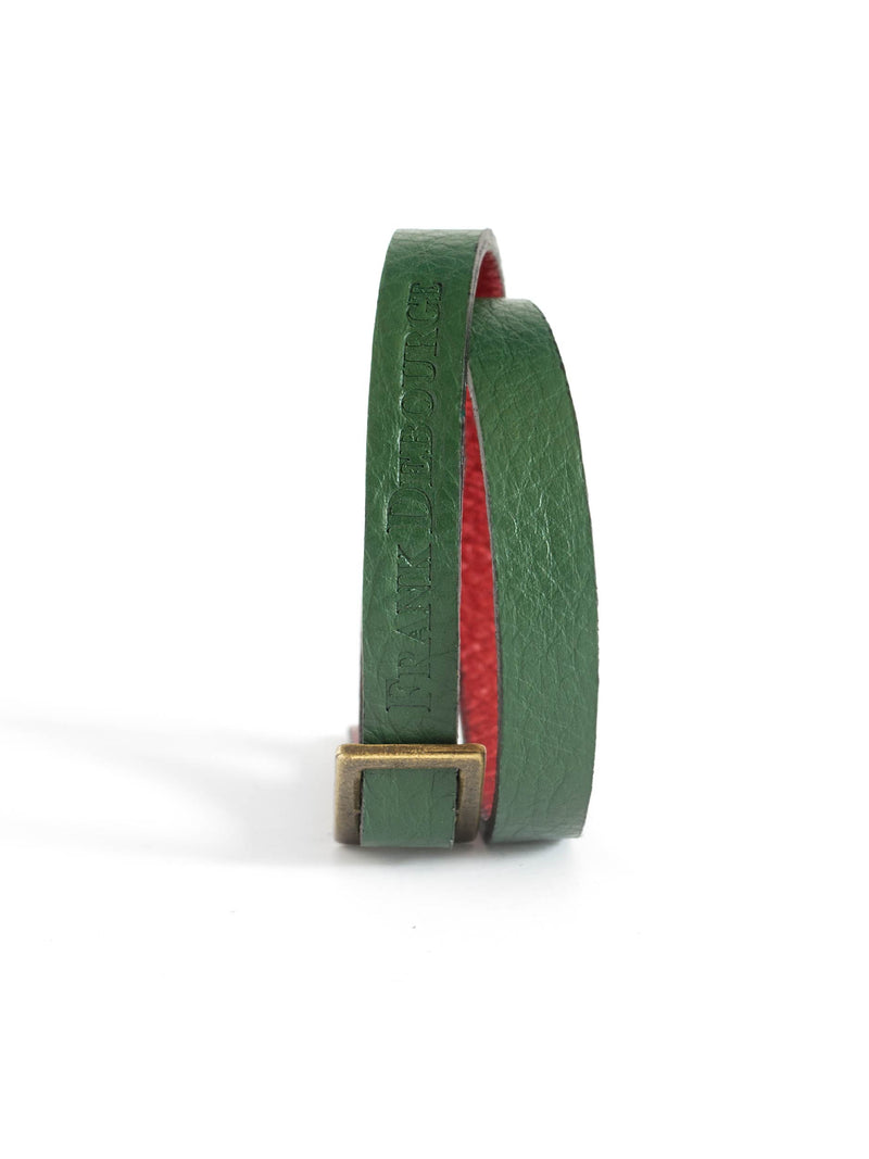 Leather Band - Green