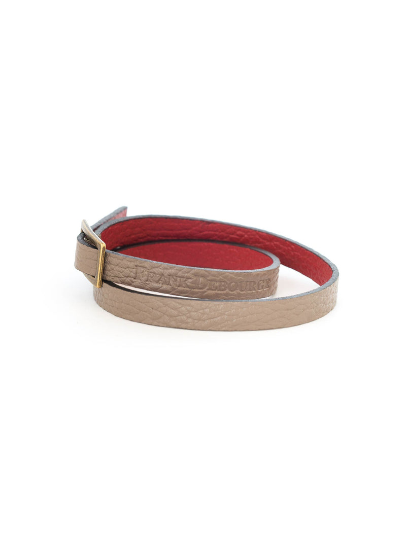 Leather Band - Taupe
