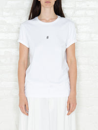 """Hashtag"" T-shirt in White"