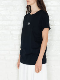 """Trademark"" T-shirt in Black"