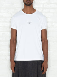 """Copyright"" T-shirt in White"