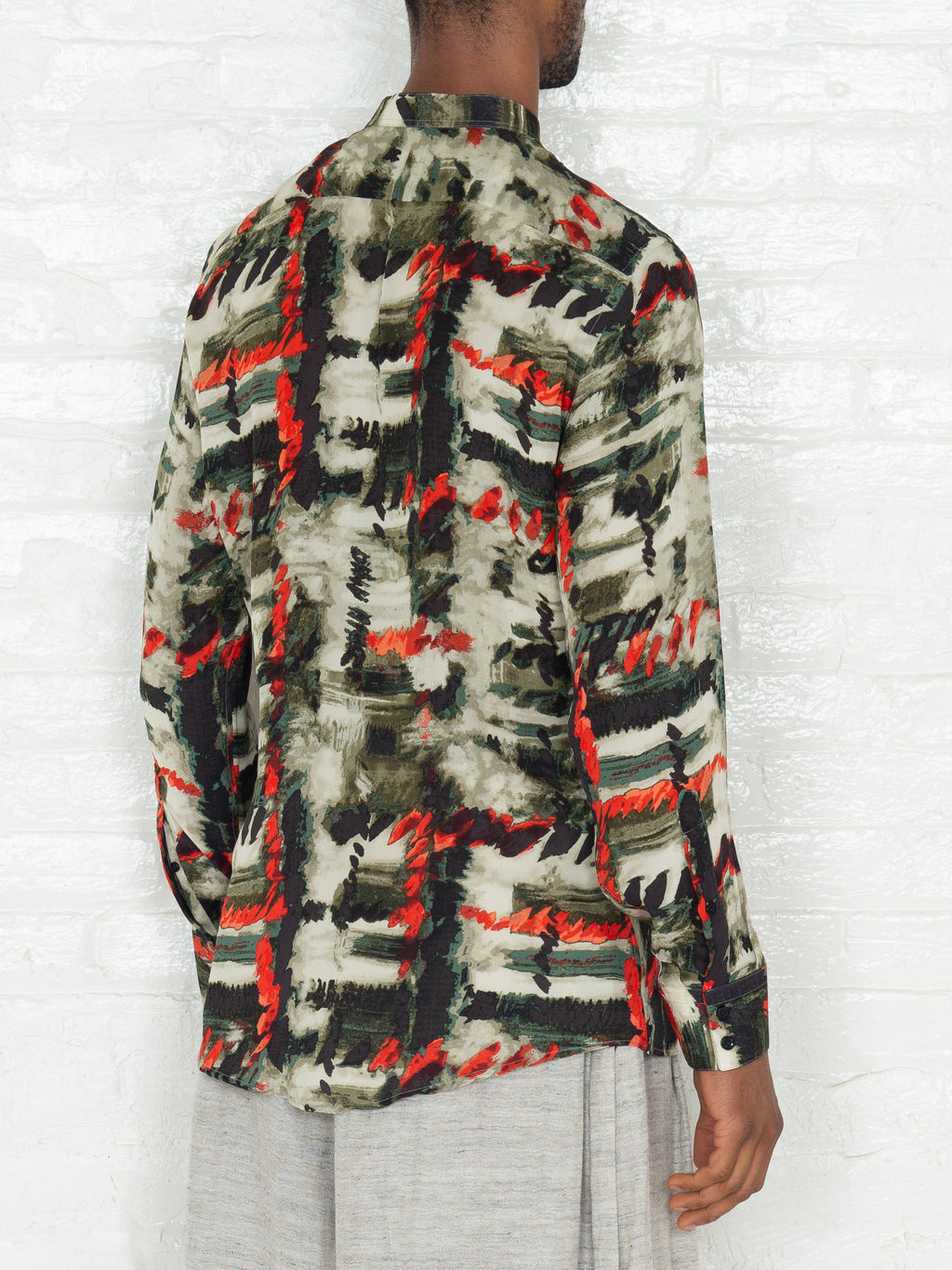 """The Essential"" Jungle Print Button Down Shirt"