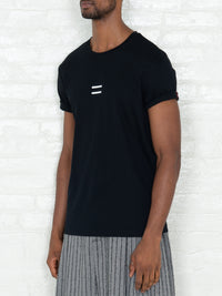 """Equal"" T-shirt in Black"