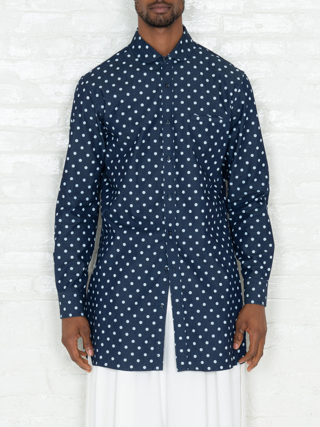 """The Essential"" Polkadot Tunic Shirt"