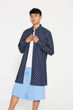 Denim Polkadot Tunic