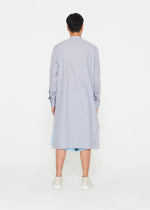 Grey Tunic With Chest Pockets