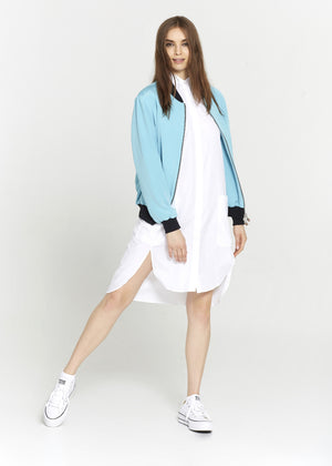 White Tunic With Bottom Pockets