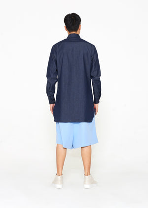 Denim Tunic chest Pocket