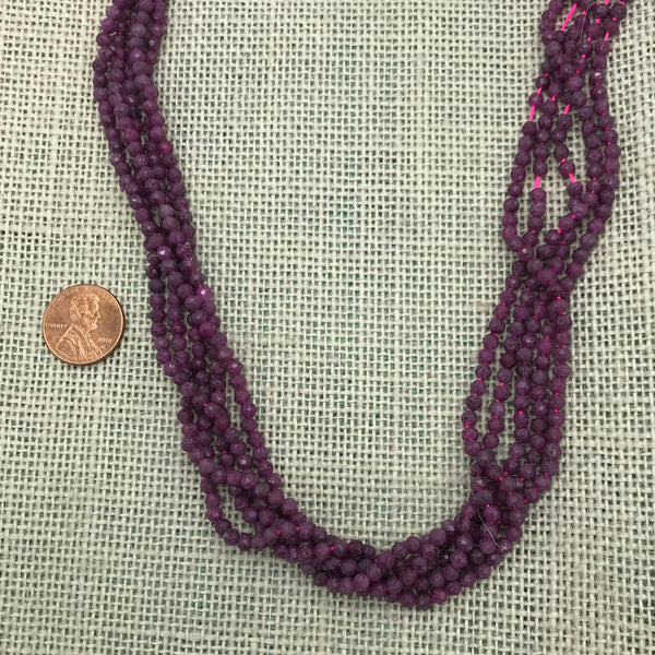 3.5mm Faceted Ruby