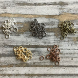 8mm Jumpring 18g 25ct