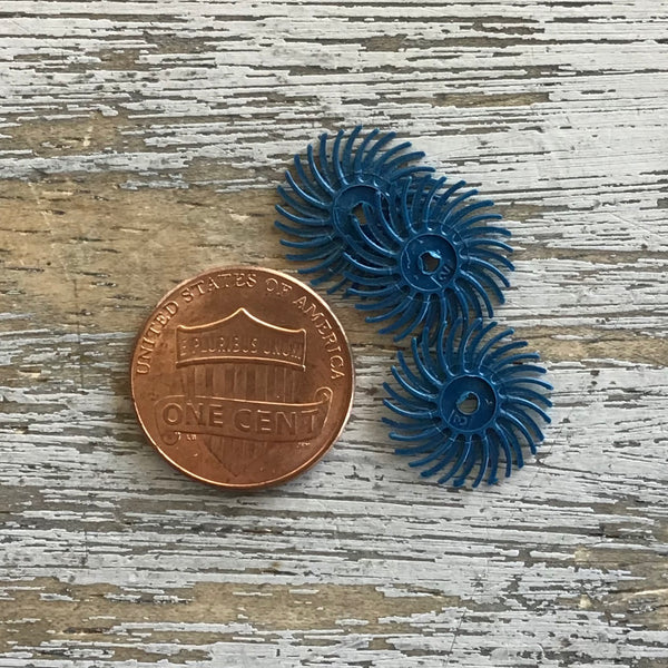 Radial Bristle Wheel Blue 400 grit 3ct