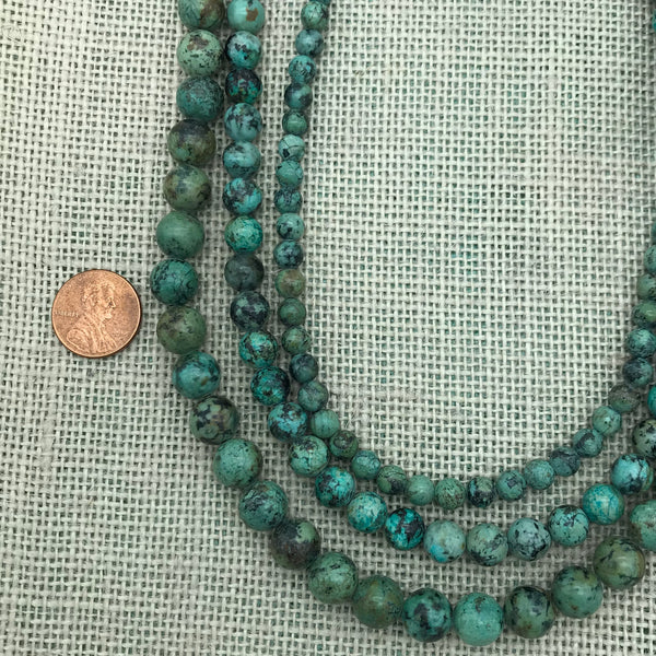 African Turquoise Round