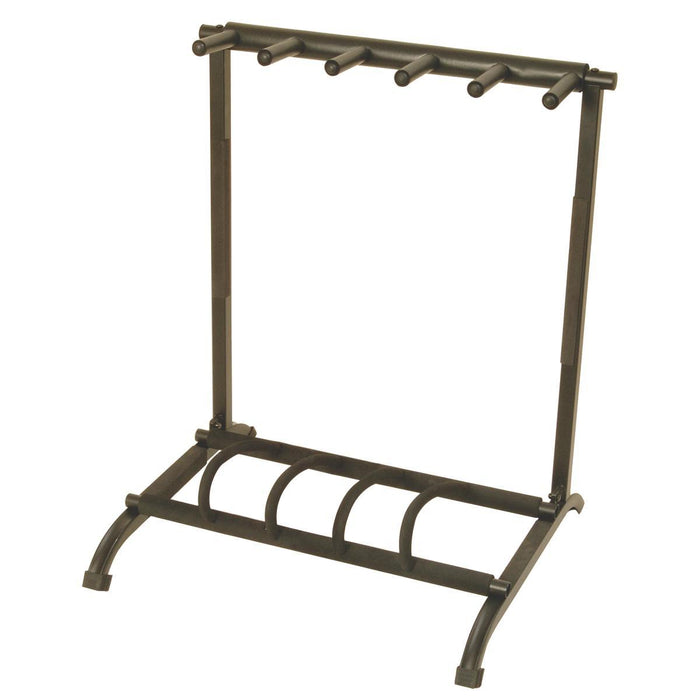 On-Stage Stands GS7561 5-Space Foldable Multi Guitar Rack