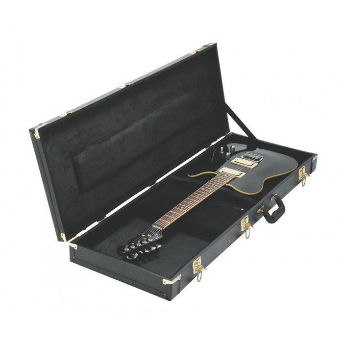 On-Stage Cases GCE6000B Hardshell Electric Guitar Case (Black)